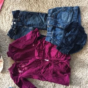 Lot of Baby Girl Old Navy Clothes